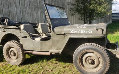 Willys jeep 1943 mb254124