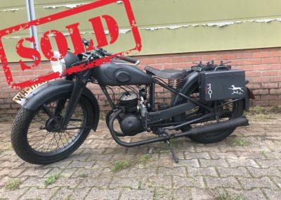 Wehrmacht Zündapp DB200 Motorrad (Sold)