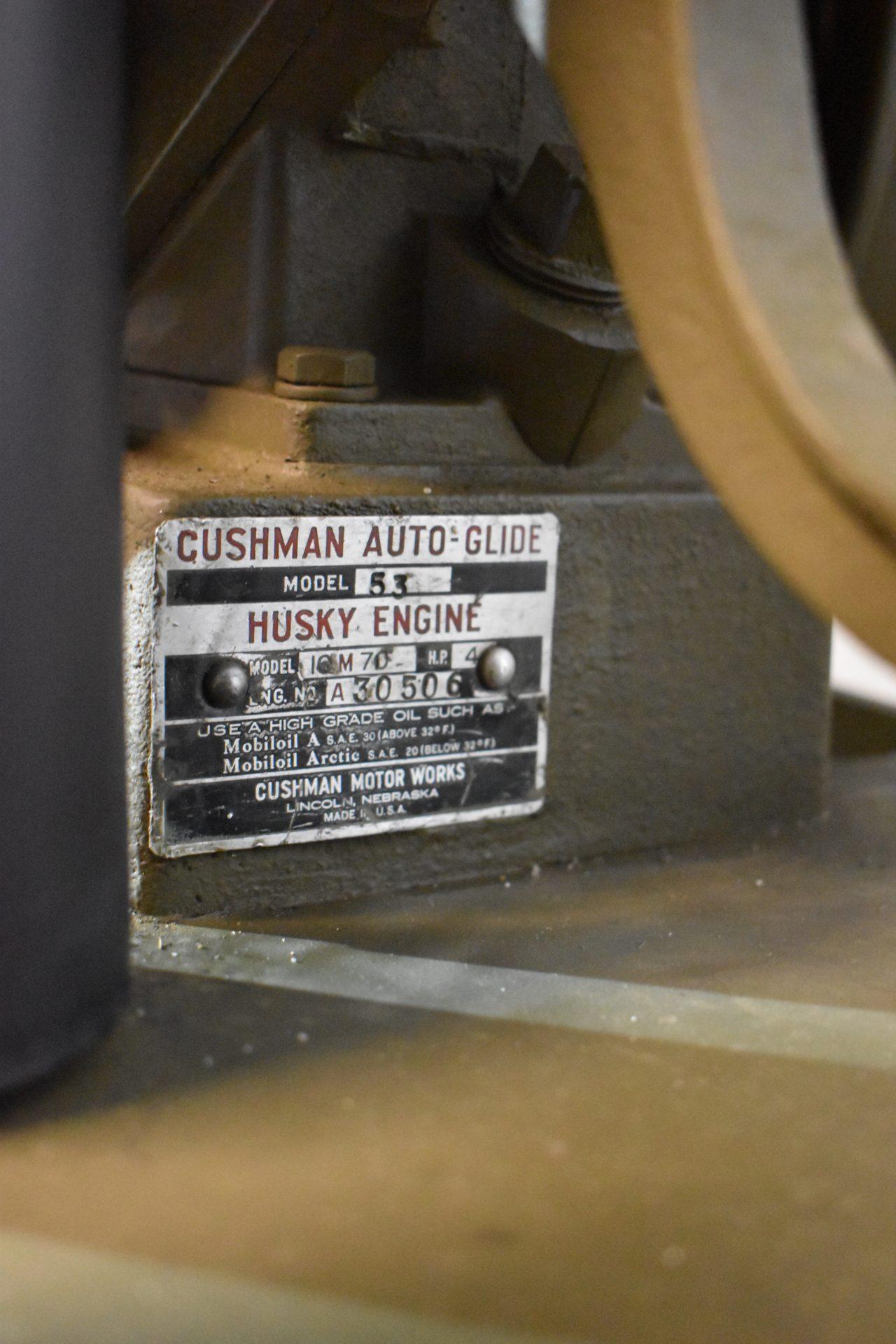 Cushman 53 serial