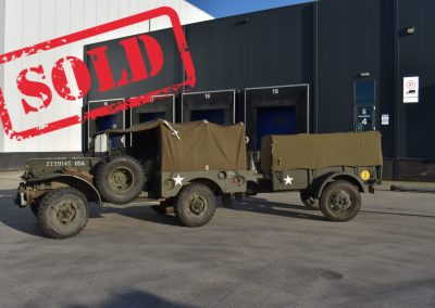 Dodge weapons carrier 51 with Ben Hur