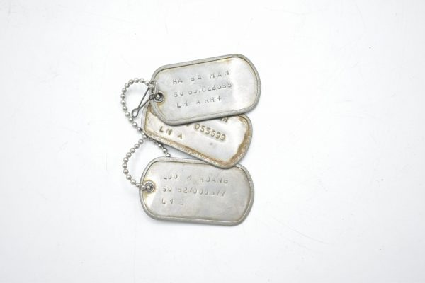 WW2 pair of unknown dogtags