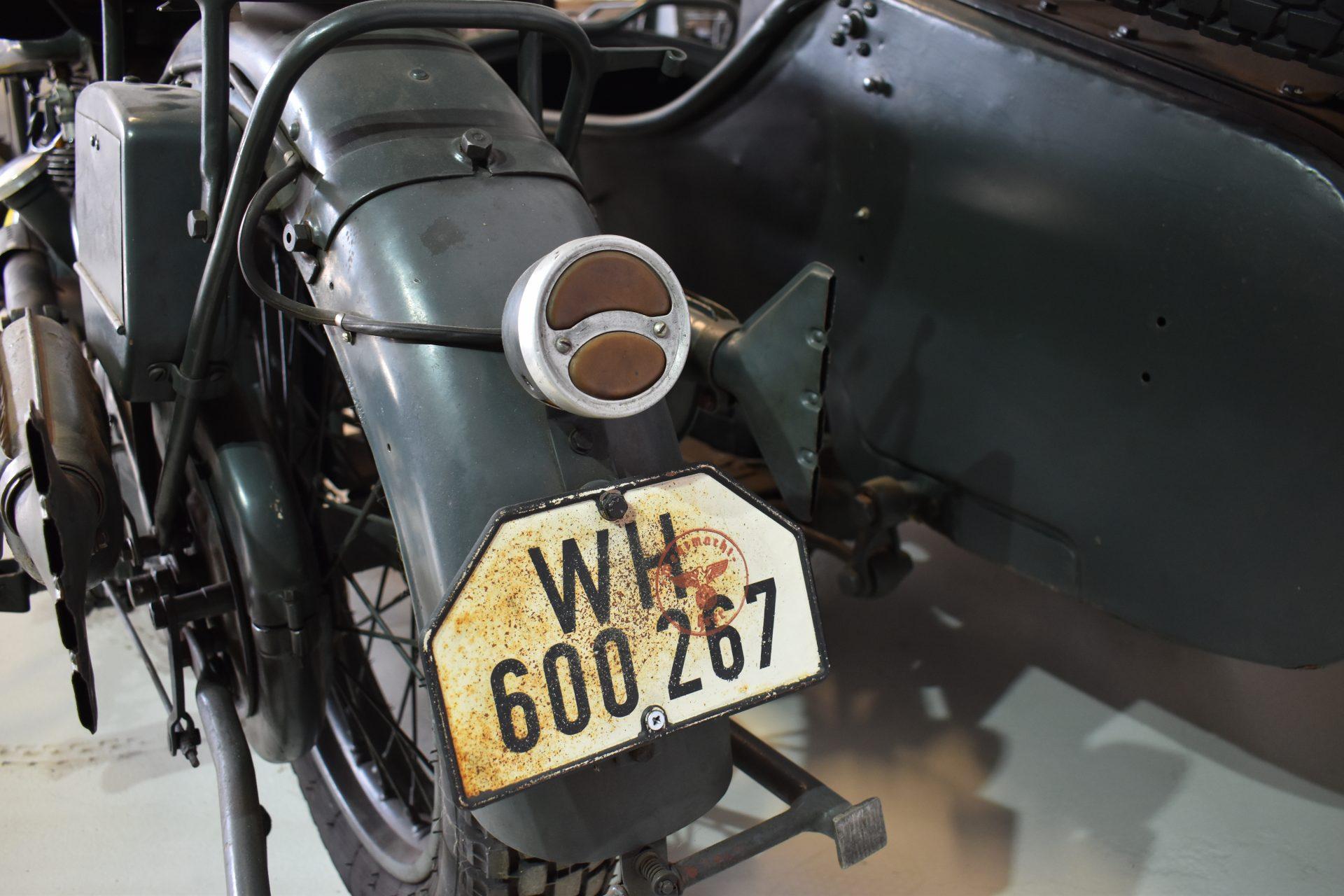 NSU 601 OSL rear