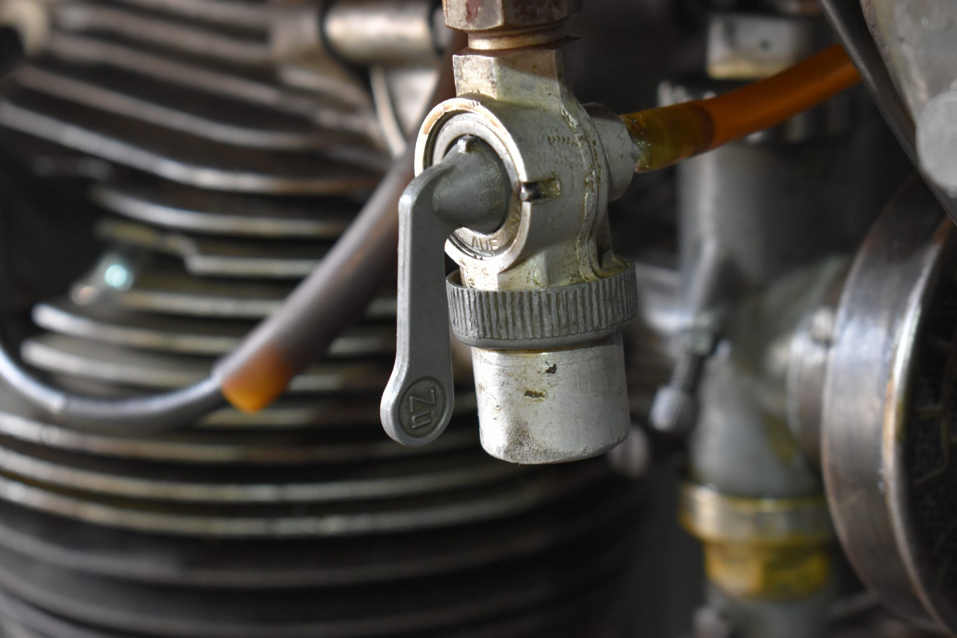 NSU 601 OSL fuel selector