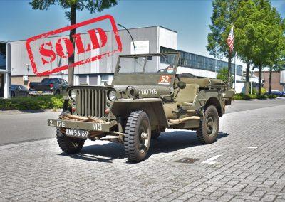 WW2 1943 Willys MB jeep